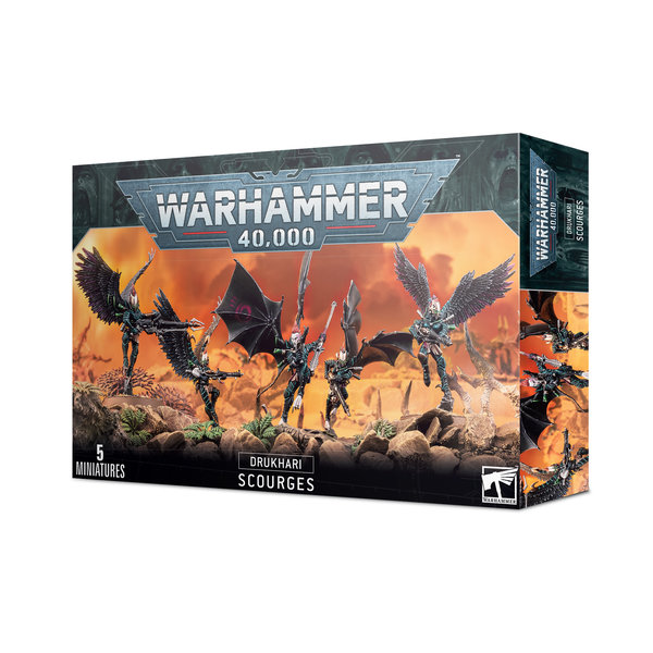 Warhammer 40k DRUKHARI SCOURGES