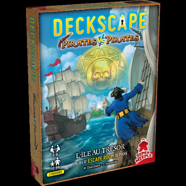 Super Meeple DECKSCAPE 8: DUEL - PIRATES VS PIRATES (FR)