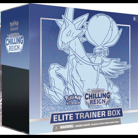 POKEMON CHILLING REIGN ELITE TRAINER - Ice Rider Calyrex