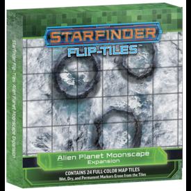 Paizo STARFINDER FLIP-TILES: ALIEN PLANET MOONSCAPE EXPANSION