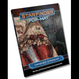 Paizo STARFINDER FLIP-MAT CRASHED STARSHIP