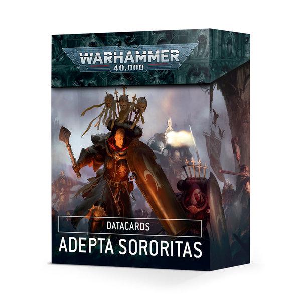 Warhammer 40k DATACARDS: ADEPTA SORORITAS (ENGLISH)