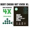 Best Chess Set Ever XL (Green) - Le Meilleur Jeu d'Échec XL (Vert)