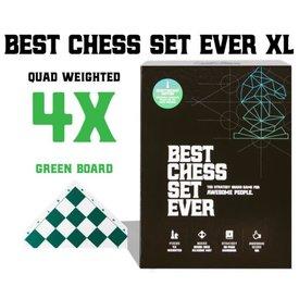Best Chess Set Ever Best Chess Set Ever XL (Green) - Le Meilleur Jeu d'Échec XL (Vert)