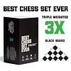 Best Chess Set Ever (Black) - Le Meilleur Jeu d'Échec (Noir)