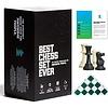 Best Chess Set Ever(Green) - Le Meilleur Jeu d'Échec (Vert)