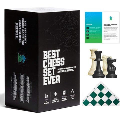 Best Chess Set Ever (Green) - Le Meilleur Jeu d'Échec (Vert)