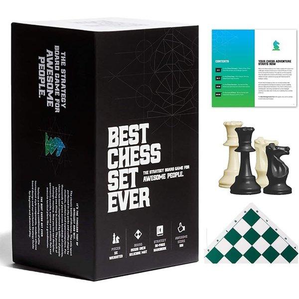 Best Chess Set Ever Best Chess Set Ever(Green) - Le Meilleur Jeu d'Échec (Vert)
