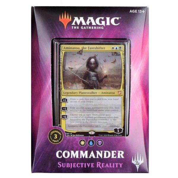 Wizards of the Coast Commander 2018: Subjective Reality