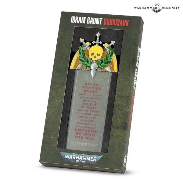 Warhammer 40k IBRAM GAUNT BOOKMARK