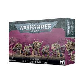 Warhammer 40k DEATH GUARD BLIGHTLORD TERMINATORS