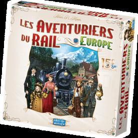 DAYS OF WONDER LES AVENTURIERS DU RAIL - EUROPE - 15E ANNIVERSAIRE