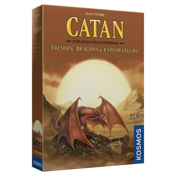 CATAN CATAN EXT: TRESORS, DRAGONS ET EXPLORATEURS
