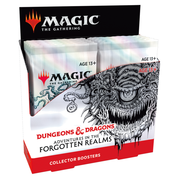 Wizards of the Coast MTG ADV FORGOTTEN REALMS COLLECTOR BOOSTER BOX