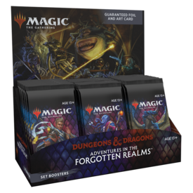Wizards of the Coast MTG ADV FORGOTTEN REALMS SET BOOSTER BOX