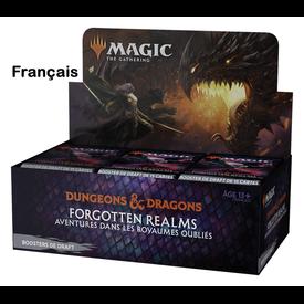 Wizards of the Coast FRANÇAIS - MTG AVENTURES FORGOTTEN REALMS DRAFT BOOSTER BOX *DATE DE SORTIE 23 JUILLET*