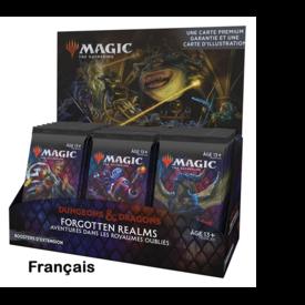 Wizards of the Coast FRANÇAIS - MTG AVENTURES FORGOTTEN REALMS SET BOOSTER BOX