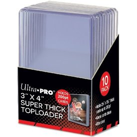 Ultra Pro UP TOPLOAD 3X4 200PT SUPER THICK 10CT