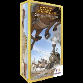 Ludonaute Colt Express : Chevaux & Diligence (FR)