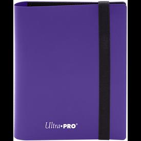 Ultra Pro UP BINDER PRO ECLIPSE 4PKT ROYAL PURPLE