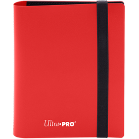 Ultra Pro UP BINDER PRO ECLIPSE 4PKT APPLE RED