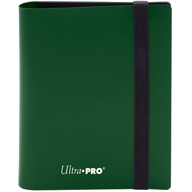 Ultra Pro UP BINDER PRO ECLIPSE 4PKT FOREST GREEN