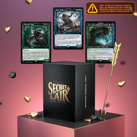 Wizards of the Coast MTG Secret Lair Showcase: Kaldheim - Part 1