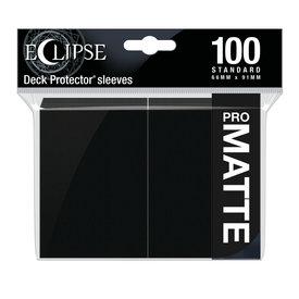 Ultra Pro UP D-PRO ECLIPSE BLACK MATTE SLEEVES 100CT