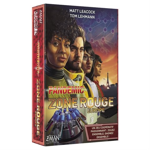 PANDEMIC ZONE ROUGE - EUROPE