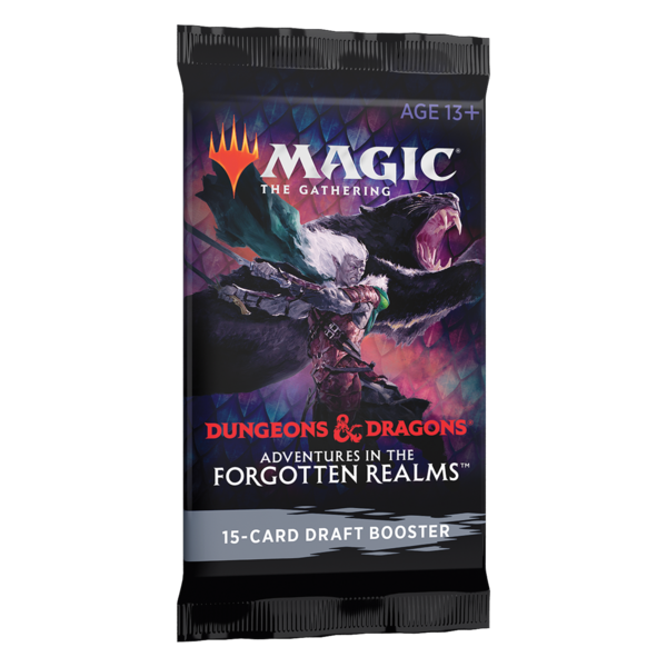 Wizards of the Coast MTG ADV FORGOTTEN REALMS DRAFT BOOSTER PACK