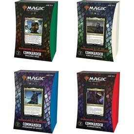Wizards of the Coast MTG ADV FORGOTTEN REALMS COMMANDER SET (4 Decks)