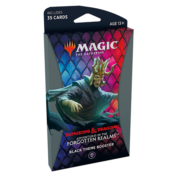 Wizards of the Coast MTG ADV FORGOTTEN REALMS THEME BOOSTER (BLACK)