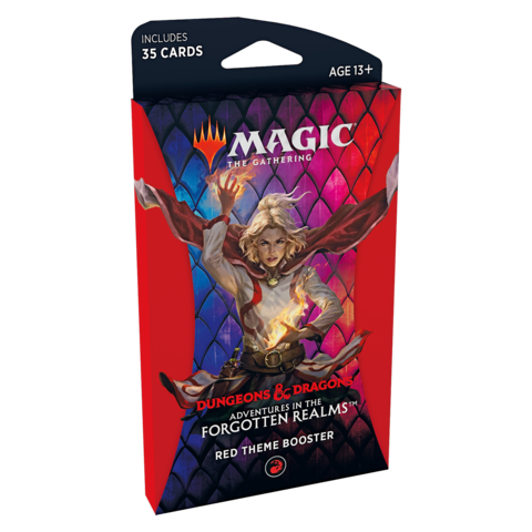 MTG ADV FORGOTTEN REALMS THEME BOOSTER (RED)
