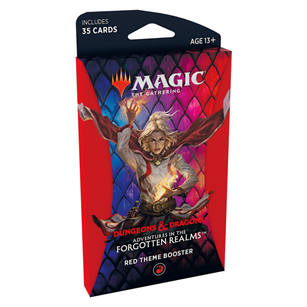 Wizards of the Coast MTG ADV FORGOTTEN REALMS THEME BOOSTER (RED)