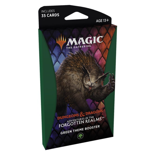 Wizards of the Coast MTG ADV FORGOTTEN REALMS THEME BOOSTER (GREEN)