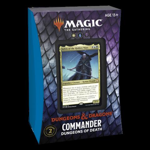 MTG ADV FORGOTTEN REALMS COMMANDER DECK - Dungeons of Death