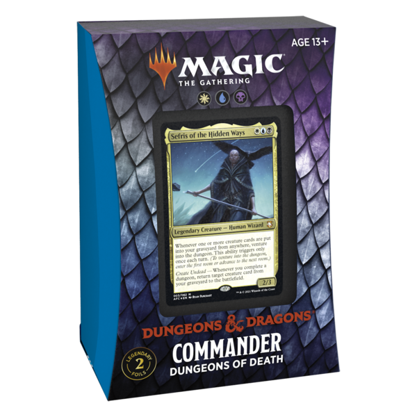 Wizards of the Coast MTG ADV FORGOTTEN REALMS COMMANDER DECK - Dungeons of Death