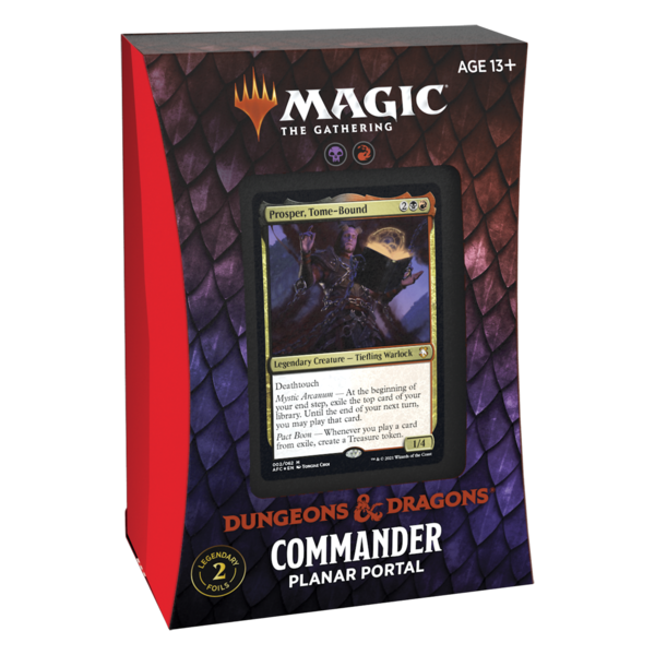 Wizards of the Coast MTG ADV FORGOTTEN REALMS COMMANDER DECK - Planar Portal