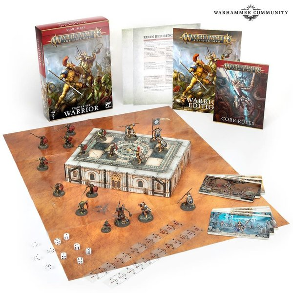 Age of Sigmar AGE OF SIGMAR: WARRIOR (ENG)