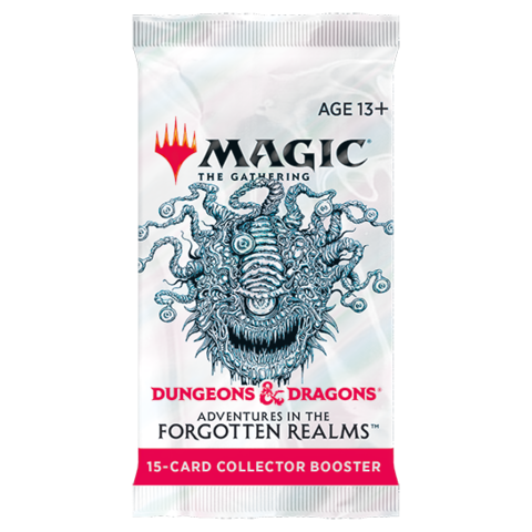MTG ADV FORGOTTEN REALMS COLLECTOR BOOSTER BOOSTER PACK