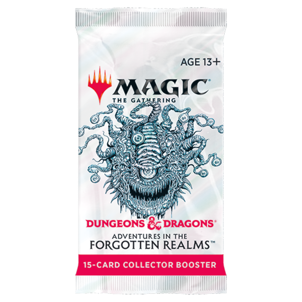 Wizards of the Coast MTG ADV FORGOTTEN REALMS COLLECTOR BOOSTER BOOSTER PACK