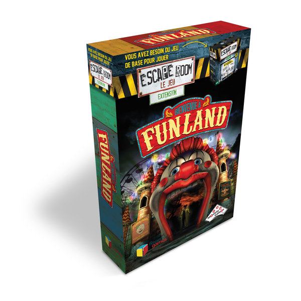 Identity Games Funland (Extension) - Escape Room