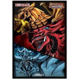 Konami YGO SLIFER OBELISK & RA CARD SLEEVES