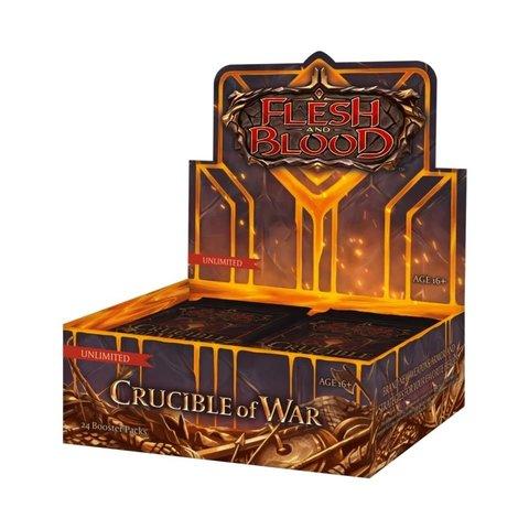 Flesh and Blood - Crucible of War (UNL) Booster Box