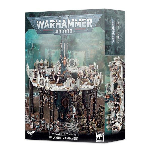 Warhammer 40k BATTLEZONE MECHANICUS GALVANIC MAGNAVENT