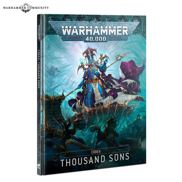 Warhammer 40k CODEX: THOUSAND SONS (HB) (EN)