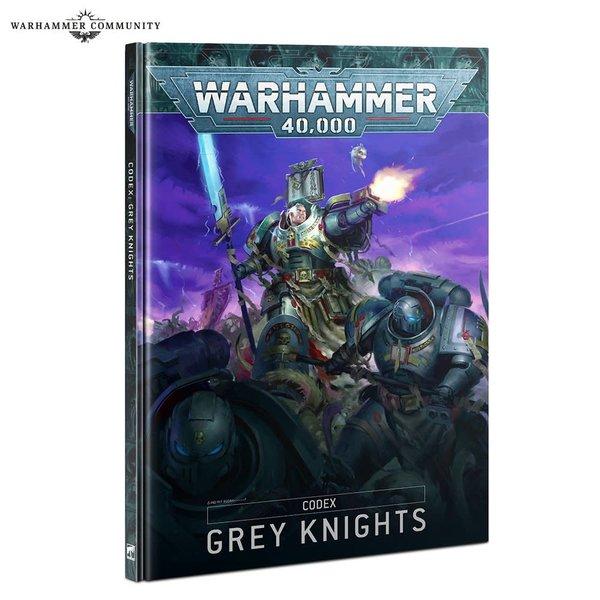 Warhammer 40k CODEX: GREY KNIGHTS (HB) (FR)