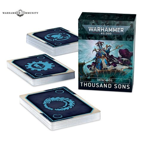 DATACARDS: THOUSAND SONS (FR)