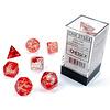 NEBULA 7-DIE SET RED/SILVER