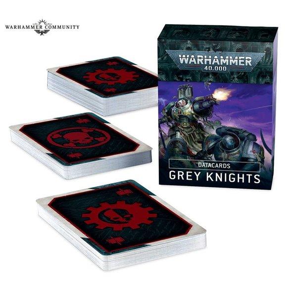 Warhammer 40k DATACARDS: GREY KNIGHTS (FR)